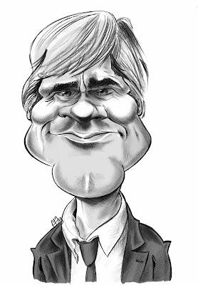 Caricature du ministre de l'agriculture - Stéphane Le Foll by Guillaume Néel