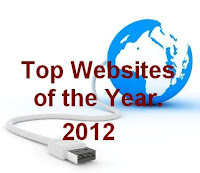 Top websites of the year 2012