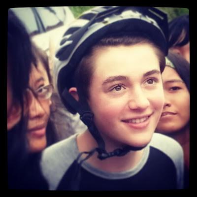 Greyson Chane Bali Fans Helmet 2013 Eyes Smile