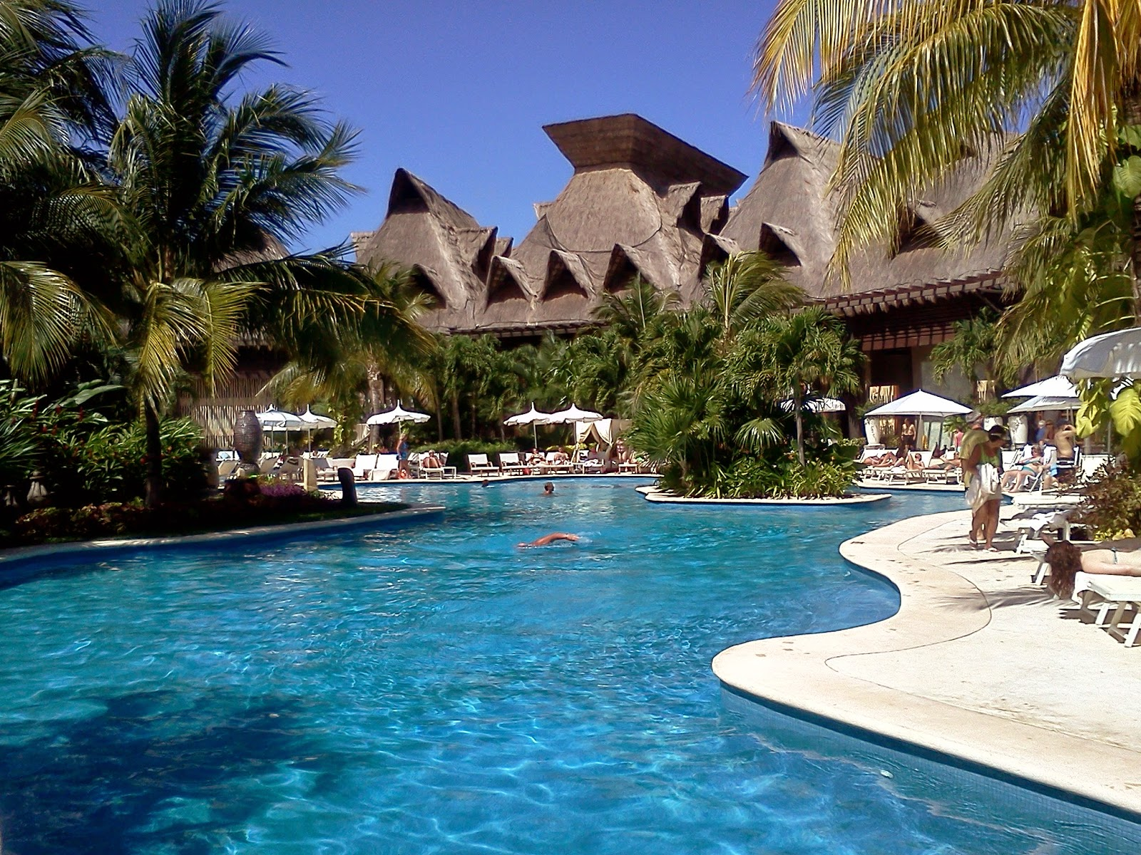 Mexican Resort Pool