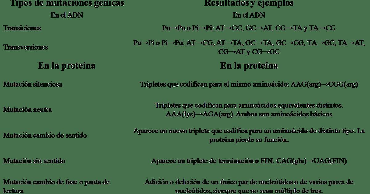 ḼїδβӚϯЧ ᴙ ⱥ ¶ ¶ ¶ ¶: 5.1.2.1 FIJACIÓN DE LA LESIÓN (MUTACIÓN)