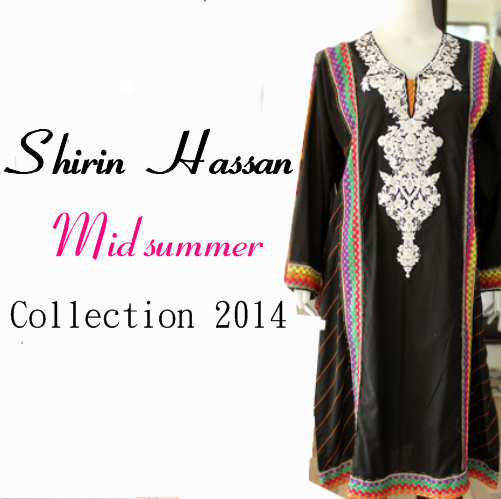 Shirin Hassan Midsummer Collection 2014