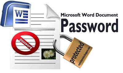 Protect your Word Document with a Password, password for word, password for document