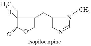 Isopilocarpine