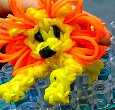 Cómo hacer un león con gomas