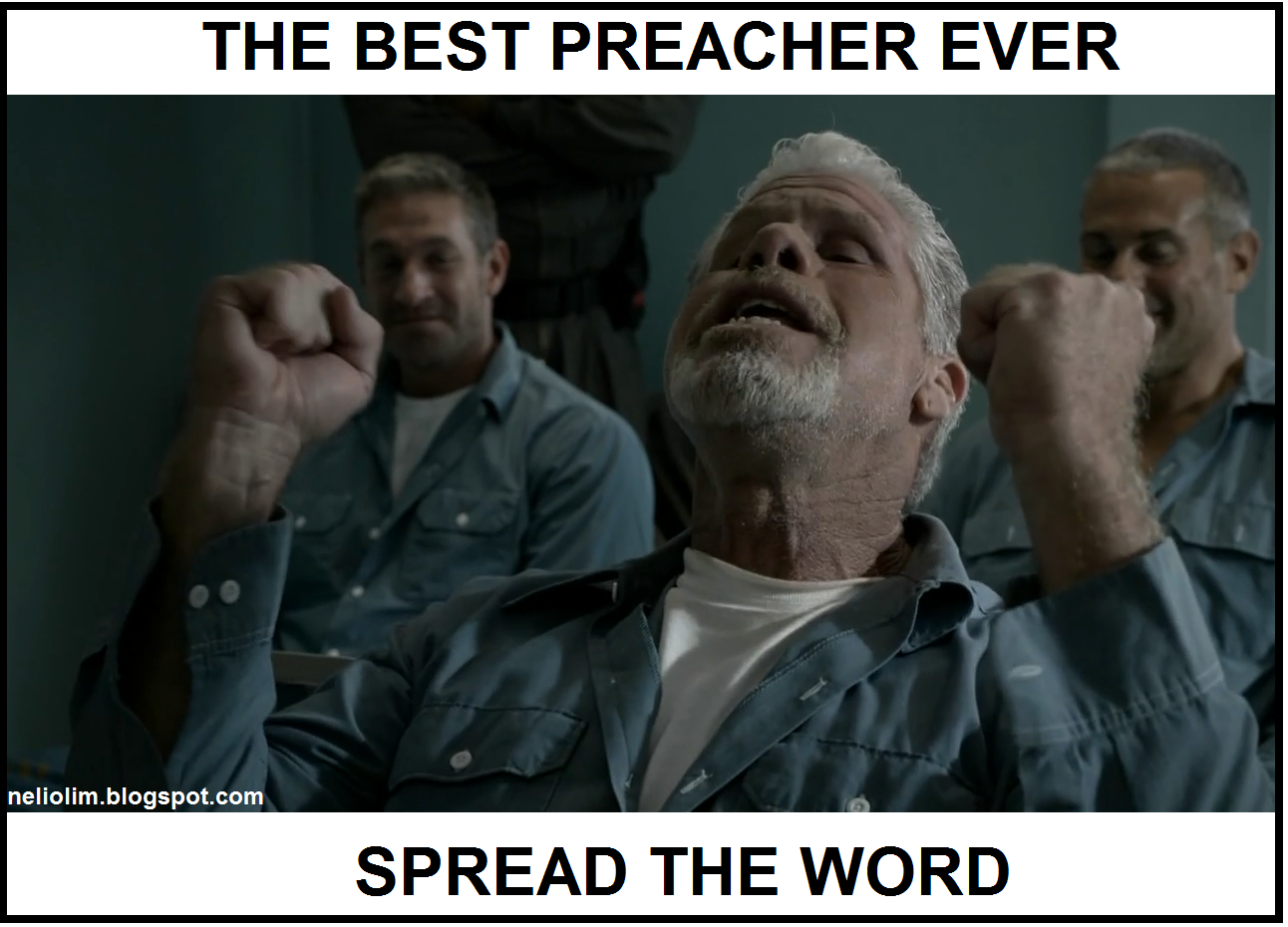 Nélio Neves Clay Morrow The Best Preacher Ever