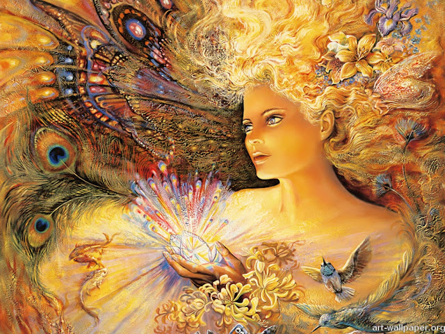 josephine wall fantasy painting crystal of enchantment