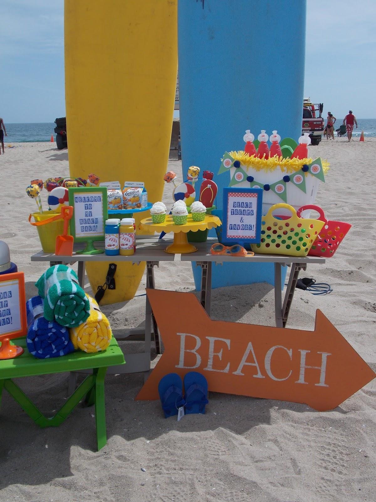 Toddler Friendly Beach Bash
