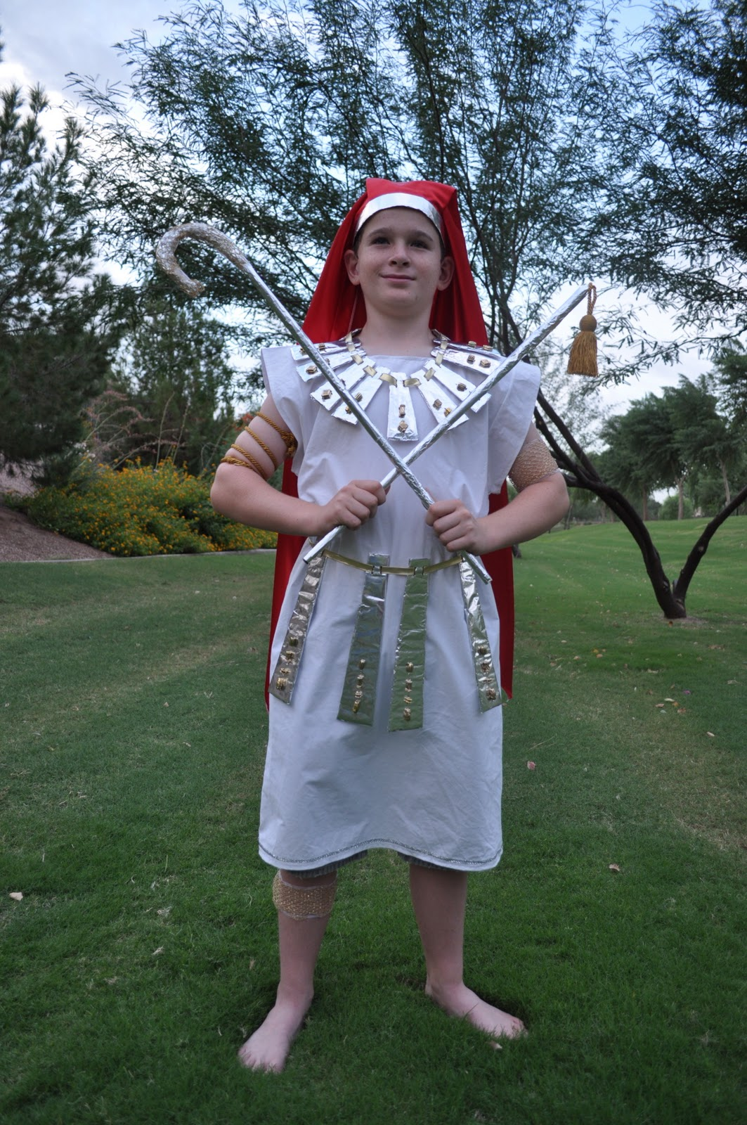 seeshellspace My $4 King Tut Costume | Boo! | Pinterest .  sc 1 st  Thesaurus Synonyms on Science-all & List of Synonyms and Antonyms of the Word: king tut costume pattern