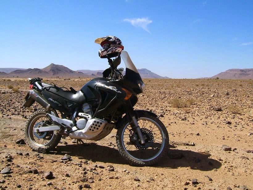 Sahara y Transalp