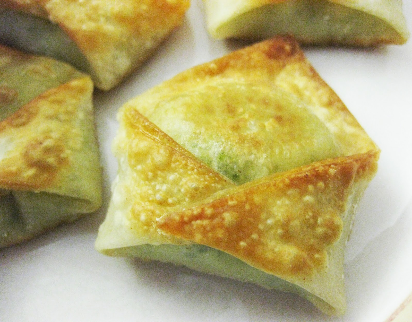 Broccoli Ginger Dumplings