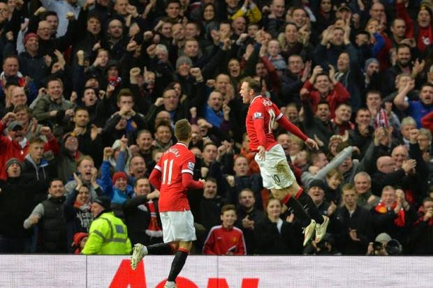 Wayne Rooney Jaguh Buat Man United Tewaskan Sunderland , info sukan, bola sepak, liga perdana inggeris, epl, manchester united
