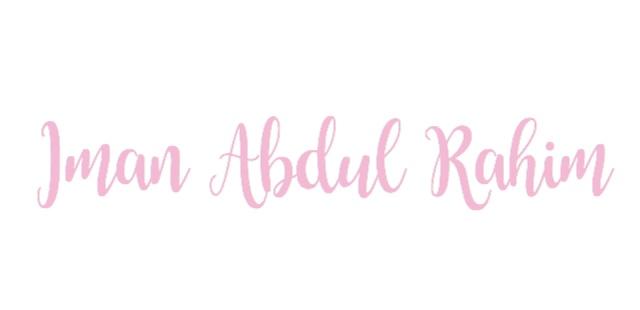 IMAN ABDUL RAHIM