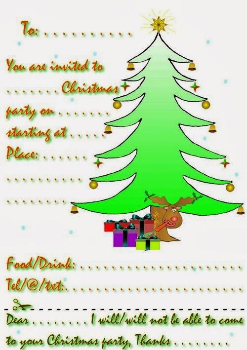 Best Christmas Invitation Templates Free To Printable
