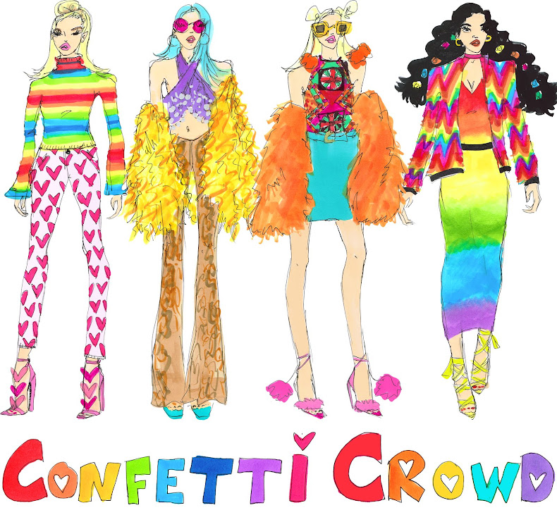 CONFETTI CROWD Official Website