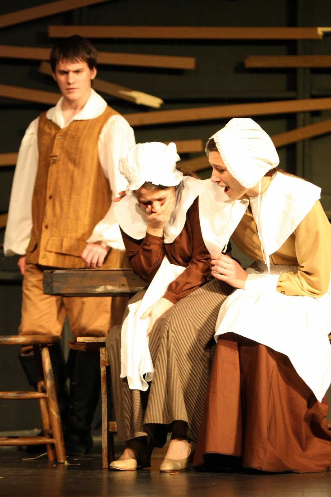 an analysis on doing the right thing for the society in the crucible The crucible: top ten quotes, free study guides and book notes including comprehensive chapter analysis,  abigail asserts her power over the girls right.