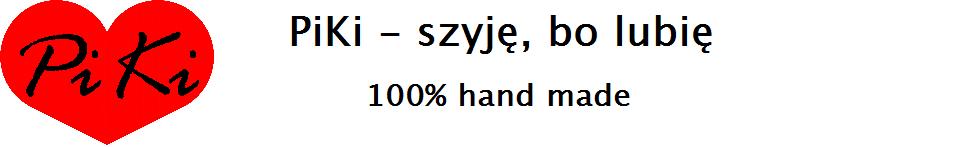 PiKi - szyję, bo lubię