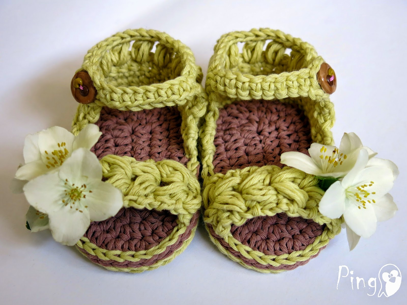 Pingo the pink penguin baby sandals vivi o baby sandals vivi crochet pattern by pingo the pink penguin bankloansurffo Image collections