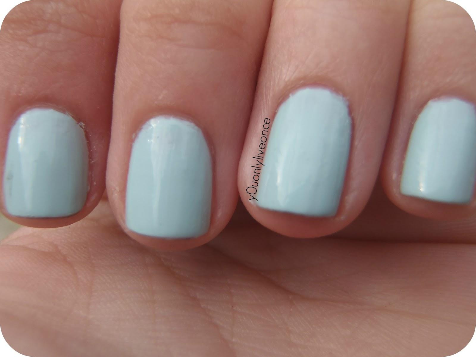 Petite Marie: #14 Menta de Color e-nail, mi primer mint.