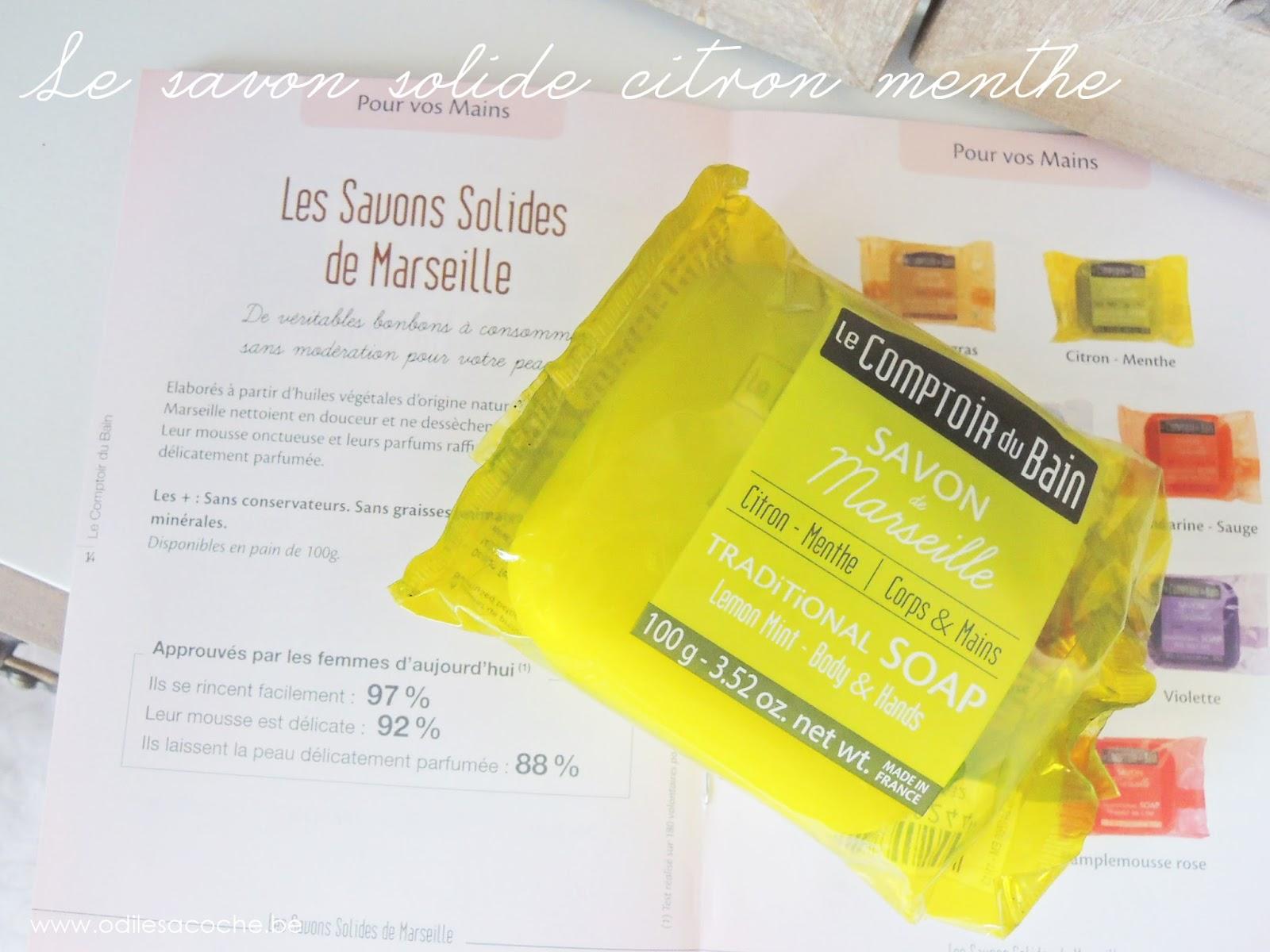 savon solide Comptoir du Bain citron