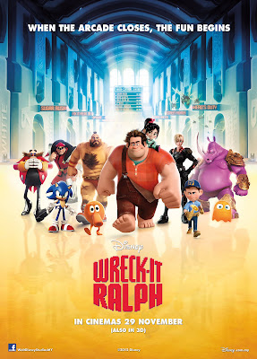 Wreck-It Ralph movie poster large
