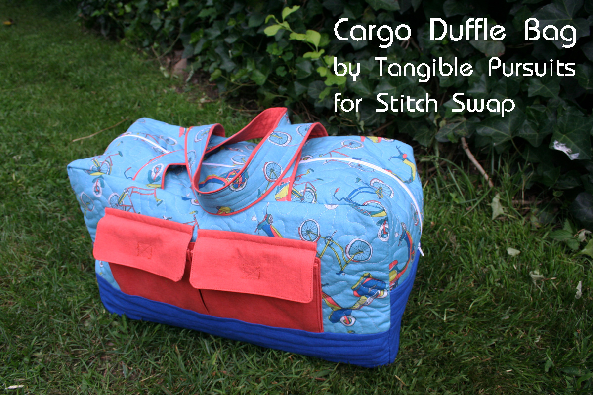 Cargo Duffle Bag by Tangible Pursuits for Stitch Swap