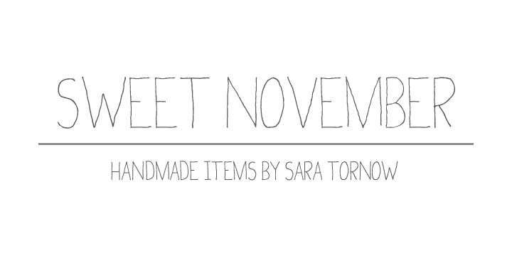 Sweet November - The Shop