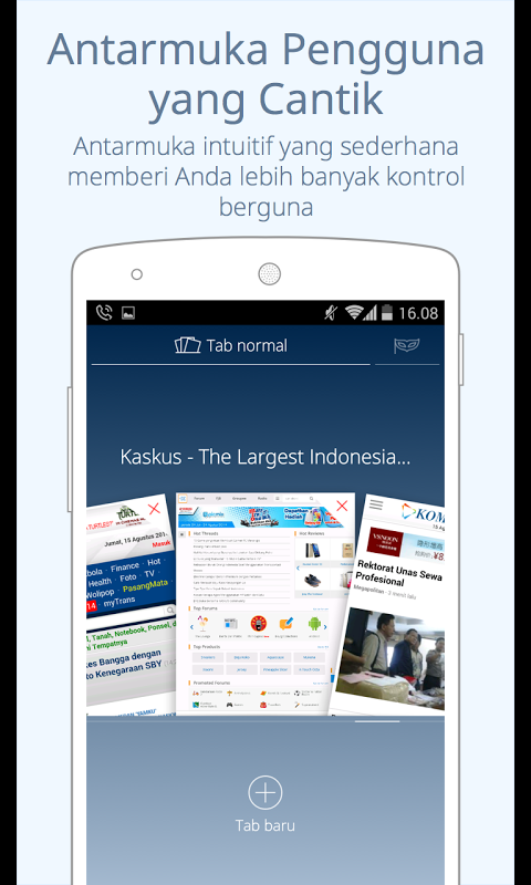 CM Browser Aplikasi Android