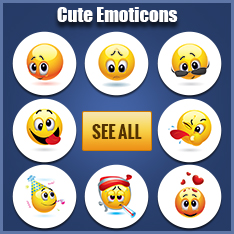 Cute Facebook Emoticons