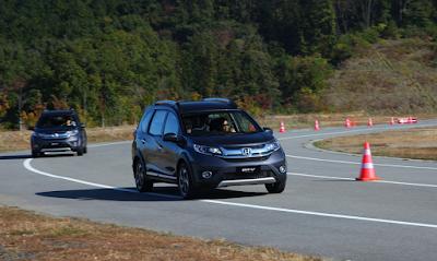 Test Drive Honda BR-V Indonesia