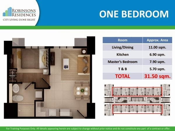Delta Residences Davao - One Bedroom