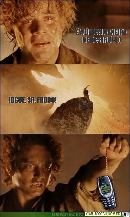"Quinto Contracanto:""Mais conectado e mais solitário"" Koalaobeso-frodo-hobbit-nokia-mordor"