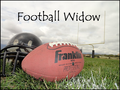 Football widow, Football season, Go team, Football girlfriend