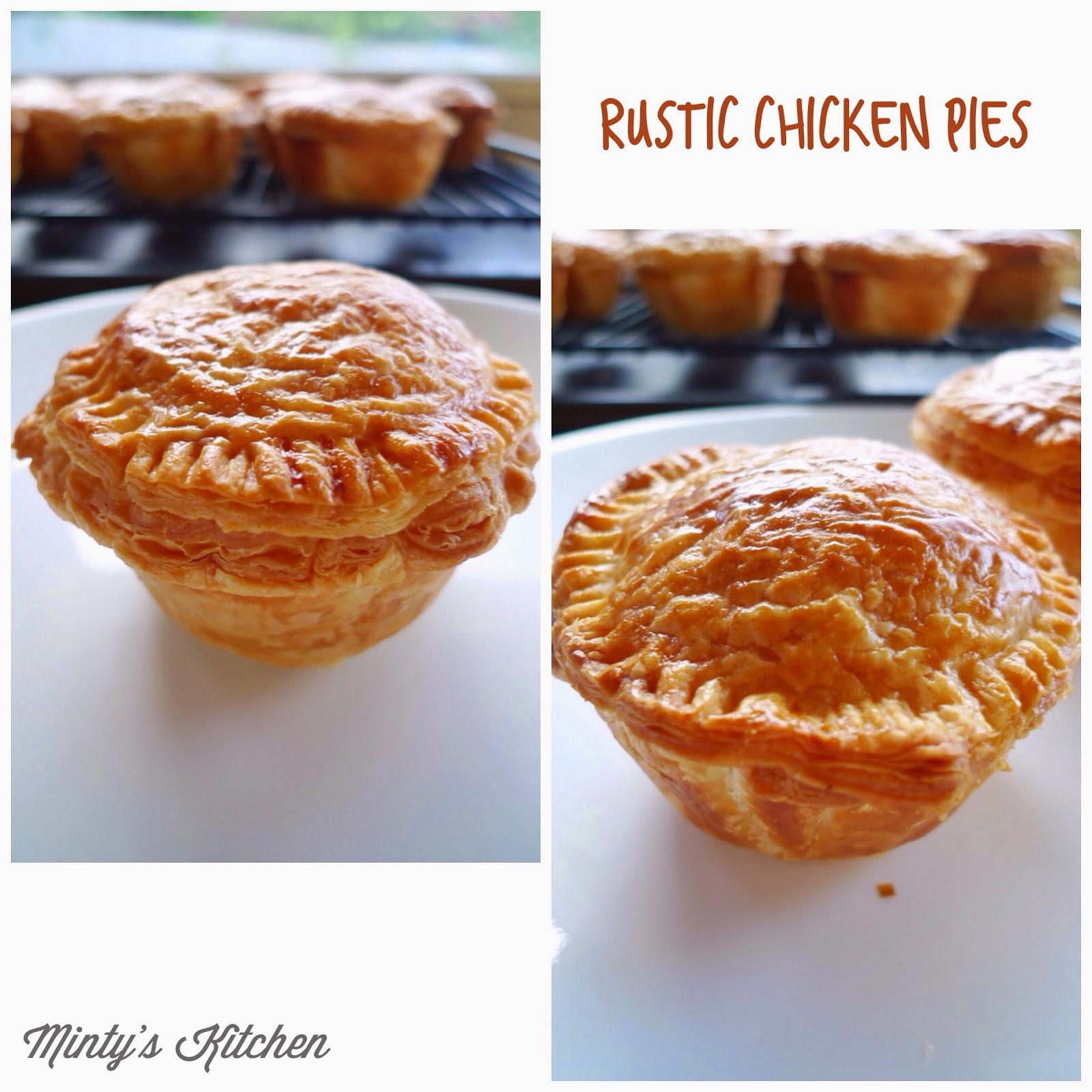 Creamy Chicken Pies