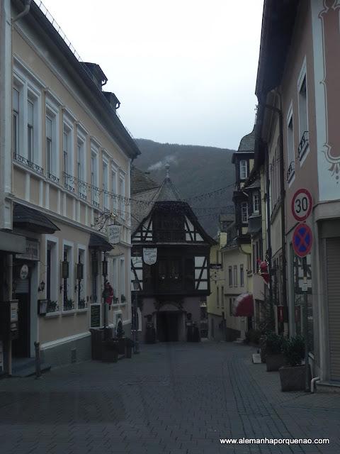 A encantadora Rüdesheim