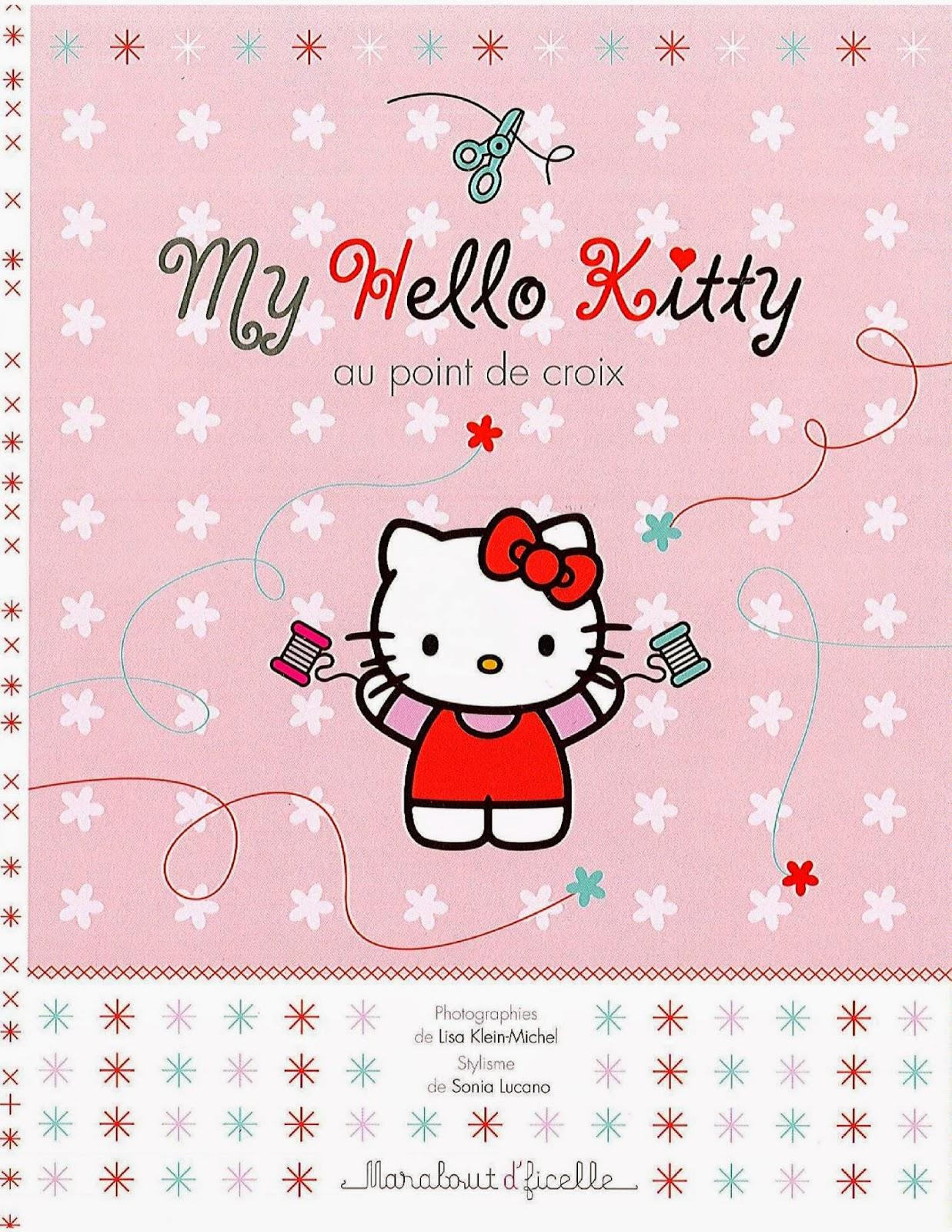Diagramas de hello Kitty en punto de cruz  Revistas de