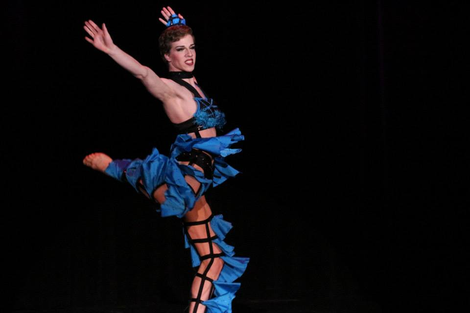 Paris Original performing at The Burlesque Hall of Fame Weekend 2013.  ©Richard Just  (Trixie Little's B.I.G. Awards)