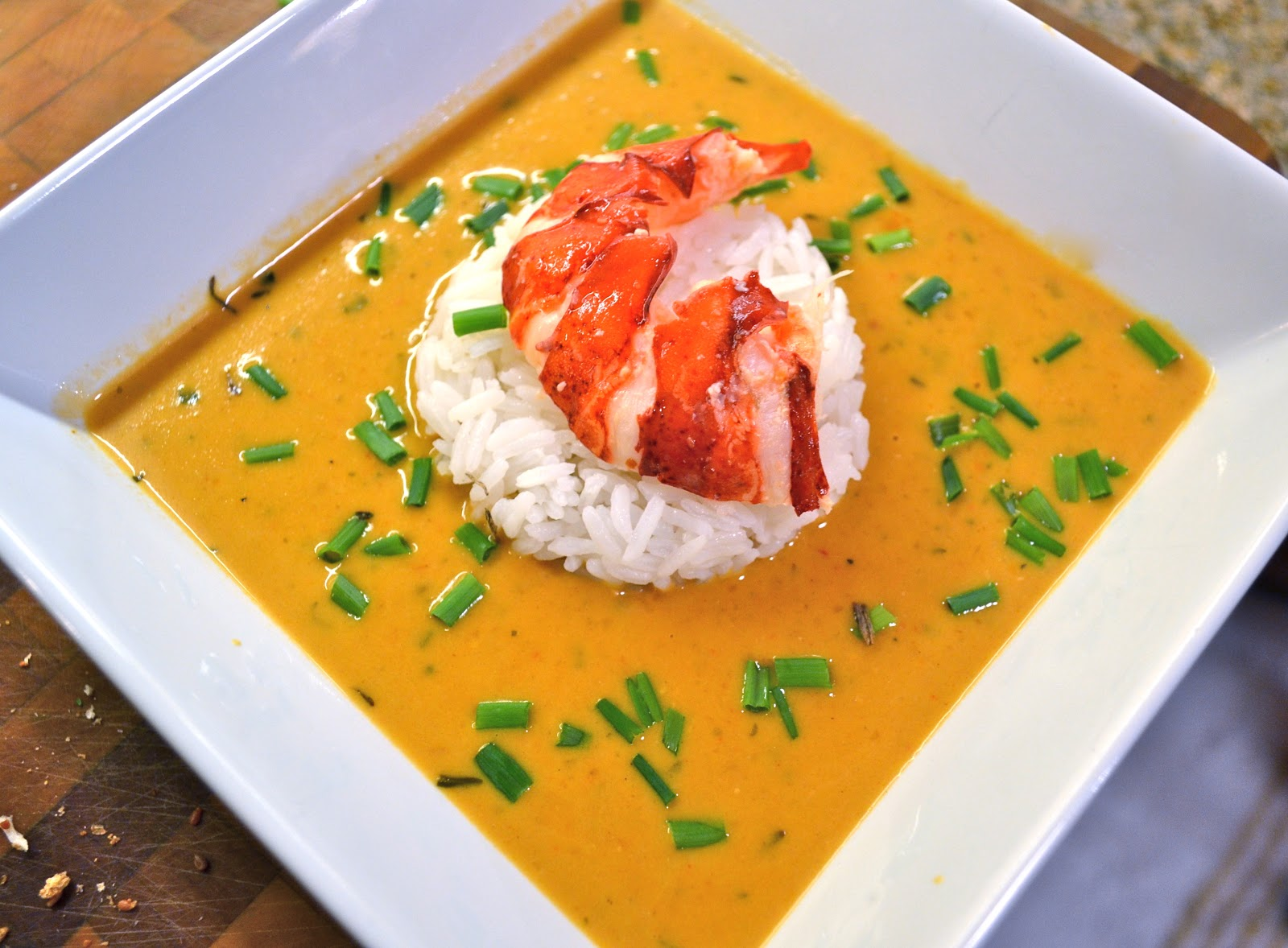 lobster bisque | rux cooks