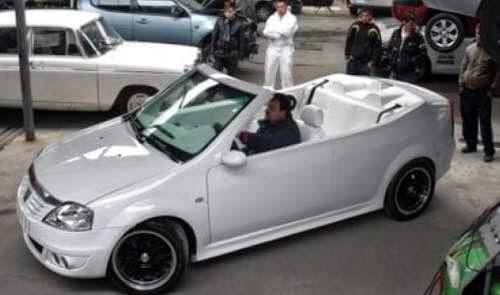 Dacia Logan Decapotabila un prototip care arata foarte bine