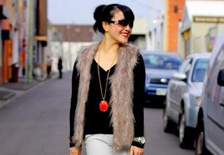 Fluffy Fur Vest