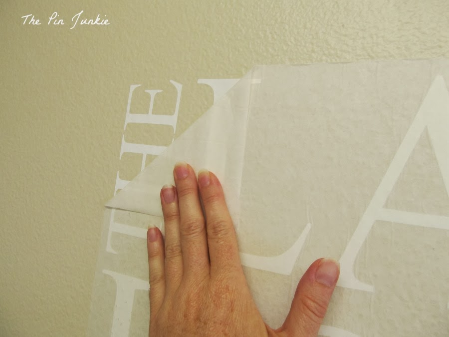 To Apply Vinyl Wall Decals - How do you put up vinyl wall decals