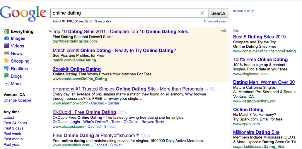 Online dating sites rankings