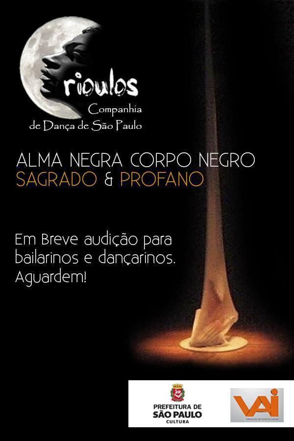 CRIOULOS CIA DE DANÇA DE SÃO PAULO