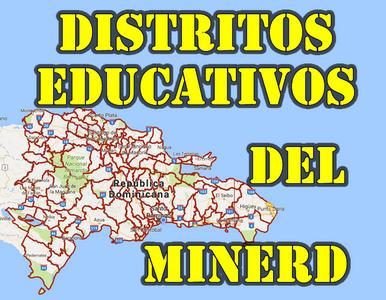 Distritos Educativos RD