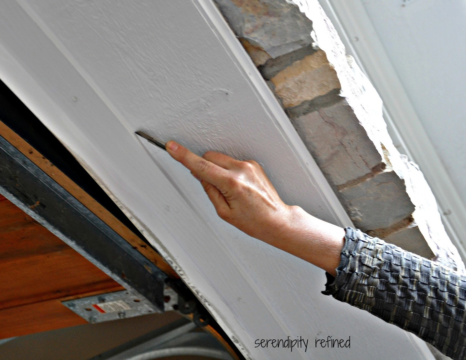 DIY Home Maintenance Garage Door Weather Seal Replacement Fix & Serendipity Refined Blog: How To Replace A Garage Door Weather Seal