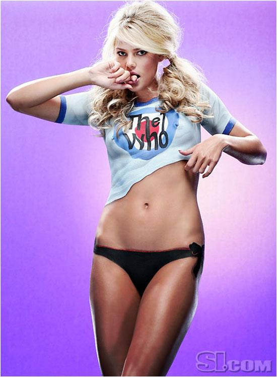 Marisa Miller Body Paint