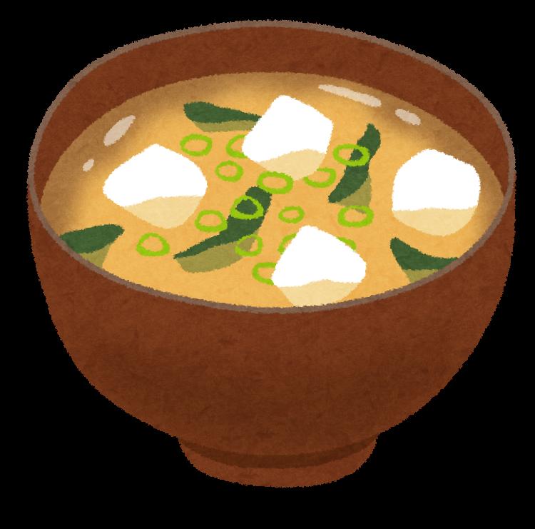 「味噌汁 イラスト」の画像検索結果