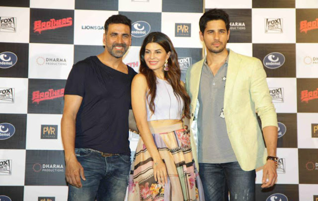 Brothers Movie Trailer Launch