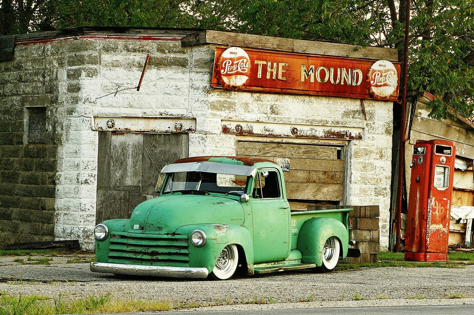 Classic Country Truck Wallpaper