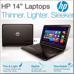 Buy 5th Generation HP 14? Laptop with Bag from Rs. 19499 at Amazon : BuyToEarn